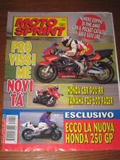 MOTOSPRINT 1997/52 HONDA CBR 900RR YAMAHA FZ6 600 FAZER