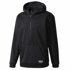 adidas ORIGINALS MEN'S NMD HOODIE BLACK RETRO RARE PULLOVER COMFY TREFOIL