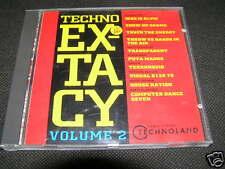TECHNO EX-TACY Vol. 2 - Trance, Techno - CD 1991 N MINT