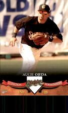2007 Tucson Sidewinders Multi-Ad #21 Augie Ojeda Los Angeles California CA Card