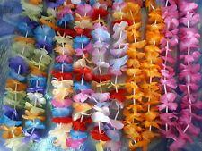 Hawaii-Kette verschiedene Farben Hawaii-Lei Blumenkette Sommer Party 129185613
