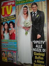 Dipiù Tv.ALENA SEREDOVA & GIGI BUFFON,BENEDETTA MAZZA,h