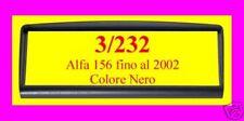 Supporto adattatore radio Alfa 156 fino al 2002  NUOVA