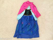 Disney Frozen Princesa Anna Fancy Dress Costume todas las edades Nuevo ** ver **