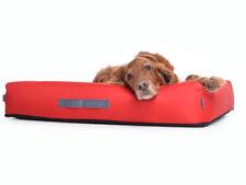 Cojín para Perro Cama para perro en nylon, rojo, ortopédica Visco Espuma