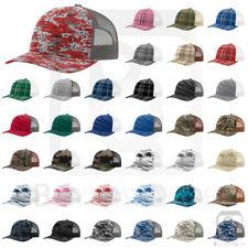 Richardson Trucker CAMO Patterned Snapback Cap Baseball Hat - 112P New for 2018