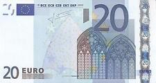 A SAISIR    BILLET   MALTE     20  EURO     NEUF    !!!!     G009E1