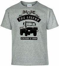 T-Shirt,Unimog U 1000,Traktor,Schlepper,Bulldog,Oldtimer