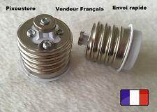 Adaptateur douille E27 femelle - E40 mâle pour ampoule culot neuf 8-41