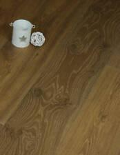 Shire 220mm Wide long Plank Brown Oak Engineered Wood flooring Distressed Rustic