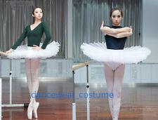 Professional Ballet Tutu Women's Hard Organdy Platter Skirt Petticoat Pettiskirt
