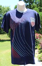 Graphic T-shirt Patriotic USA Navy NWT