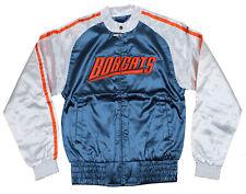 NBA Basketball Women's Juniors Charlotte Bobcats Satin Zip Up Jacket, Navy/White
