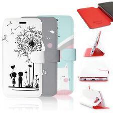 Mobiwear Hülle Apple iPhone 5 / 5S Book Style Handy Motiv Tasche Flip Case Cover