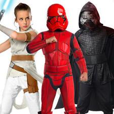 Star Wars Episode 9 Kids Fancy Dress Sci Fi Film Boys Girls Childrens Costumes