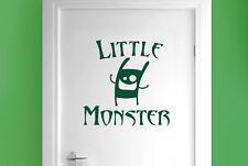 little monster room door Wall Stickers Vinyl Art Decals