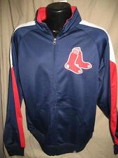 MLB Boston Red Sox Baseball Road Warrior Full Zip Sweatshirt Jacket Mens Size