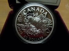 2013 Canadian $20 Dollar Beaver  1 Oz Fine Silver Coin
