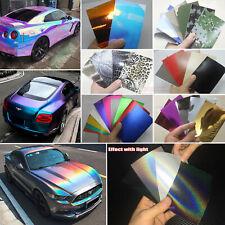 Sample Set Glossy Satin Pearl Metal Mirror Chrome 3D 4D 5D Vinyl Wrap Sticker AB
