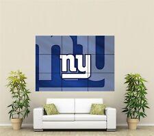 New York Giants Gigantes Xl sección pared arte cartel nfl121