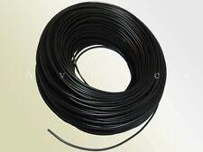 H05VK05SW PVC-Leitung/ Litze für Power LED - 0,5mm² - flexibel - schwarz- 3m/10m