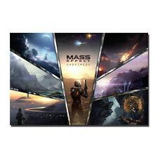 Mass Effect Poster Art Silk Hot Game Poster 13x20 24x36 inch J516