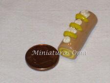 Brazo de gitano en fimo miniatura 1/12 casas muñecas