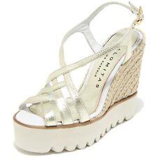 8584I sandali zeppe donna PALOMITAS metal crispado scarpe shoes sandals women