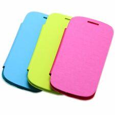 Flip Schutz Hülle Schale Cover Case Hard Bunt Samsung Galaxy Auswahl