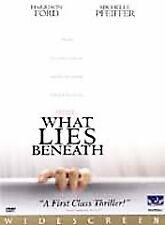 What Lies Beneath (DVD, 2001) HARRISON FORD, MICHELLE PFEIFFER, WIDESCREEN