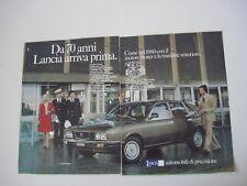 advertising Pubblicità 1977 LANCIA GAMMA