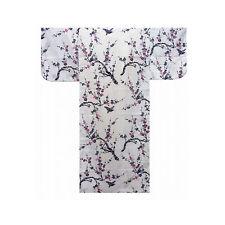 Authentische Japanische Yukata / Luftiger Kimono: Japanische Pflaume #943 (de)
