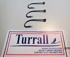 Ganci Acqua Salata-turralls per Fly Tying Varie Taglie UK Sourced CHEM affilato