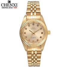 CHENXI marque Top luxe dames or montre femmes horloge dorée femme femmes robe