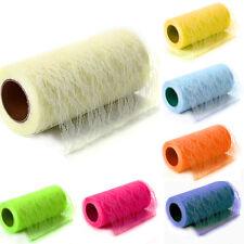 "Tulle Lace Spool 6"" X 1 Metre Netting Lace Fabric For Dresses Tutu Skirt Table"