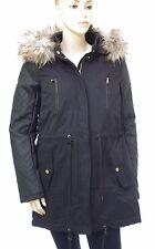 ONLY parka capuche fourrure femme NEW DEMI CONTRAST BLACK 15110102 taille M noir