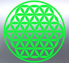 Sacred geometry golden circle of life window vinyl Sticker Aussie made & design