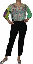 SAVE THE QUEEN Pantalon Femmes Pantalon Rivets personnage souligne haute taille noir M-XL