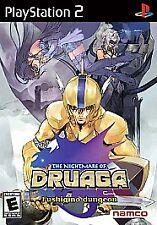 Nightmare of Druaga: Fushigino Dungeon (Sony PlayStation 2) New