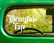 2 MERCYFUL FATE BAND DECALs Sticker For Car Window Truck Bumper RV Laptop Jeep