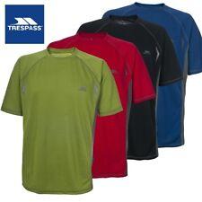 Mens TRESPASS Eddie Base Layer T Shirt - Gym/Running/Active Short Sleeved Top