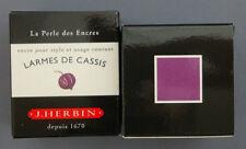 ENCRE J HERBIN COULEUR VIOLETTE LARMES DE CASSIS CALLIGRAPHIE INK PURPLE COLOR