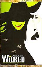 "Kristin Chenoweth ""WICKED"" Idina Menzel / Stephen Schwartz 2003 Souvenir Program"