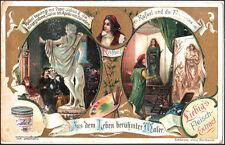 ANTICA FIGURINA LIEBIG - PITTORI CELEBRI - RAFFAELLO - 1904 EDIZIONE TEDESCA - 1