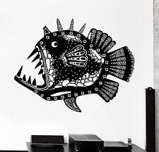 Decal Fish Ocean Predator Deep See Underwater Mural Vinyl Decal (z3159)