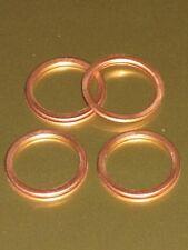 Washer crush copper for Access plug Triumph 1971 1972 rocker box washers 71-2080