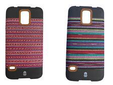 Mayan CASE FUNDA PROTECTORA PARA SAMSUNG GALAXY S5 Hecho De Maya Tejida Material