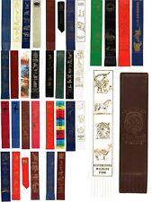 Leather Bookmark Zoo Safari Wildlife Leisure Wild Animals Park UK Souvenir Gift