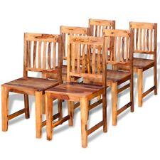 vidaXL Ensemble Chaises de salle à manger cuisine en bois de Sheesham massif
