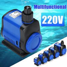 Ultra Silent Submersible Aquarium Water Pump Adjustable Fish Water Filter Pump
